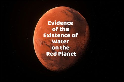 Post909: Scientists Evidence of the Existence of Water on t...