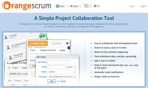 Orangescrum - A Simple Project Collaboration Tool