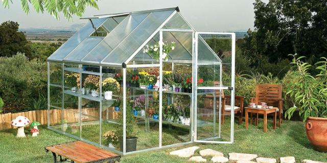 Amazon Is Selling A Tiny Backyard Greenhouse To Fuel Your 400 x 300