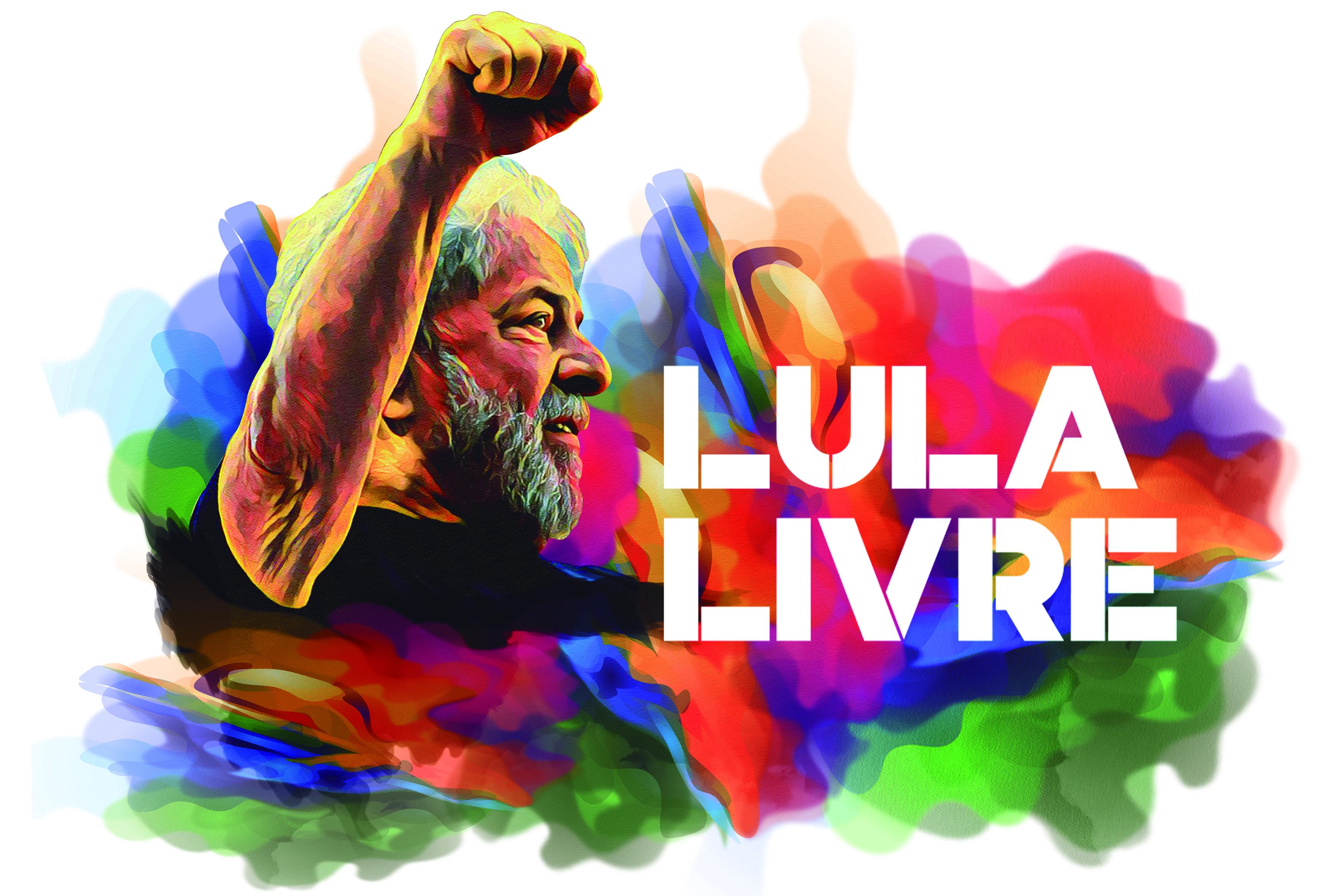 Arte campanha jornada Lula Livre | Lula desenho, Lula