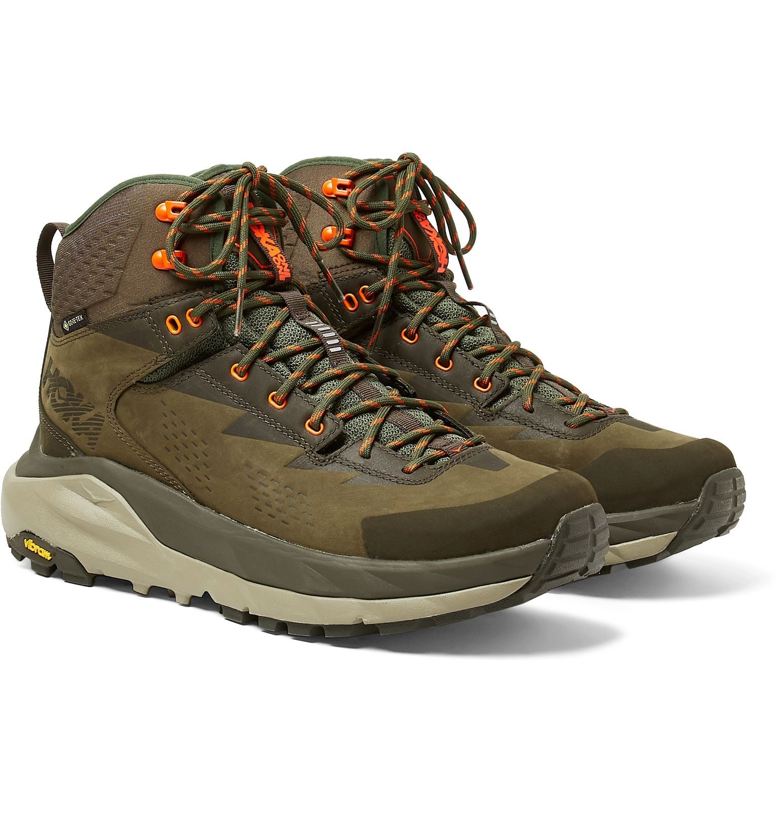 Army green Kaha GORE-TEX and Leather