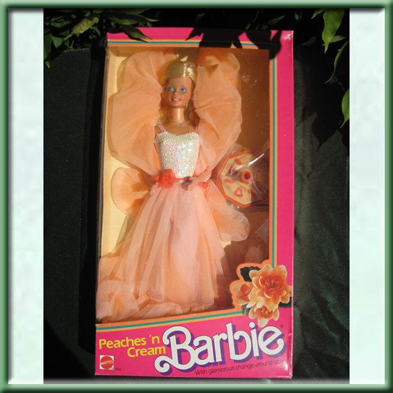 Peaches 'n Cream Barbie Doll...I got her for my 8th birthday...INSTEAD of Pink&Pretty Barbie :(