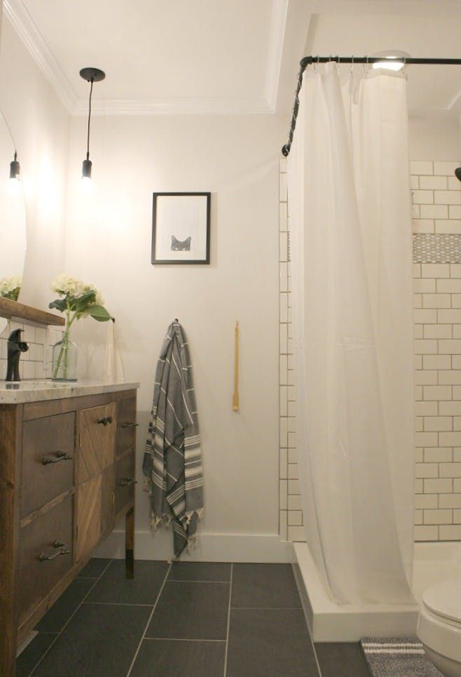 Before After A Tiny Bathroom Gets A Stylish Space Maximizing