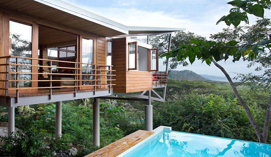 Superbe Maison De Vacances Sur Pilotis En Pleine Jungle Au Costa