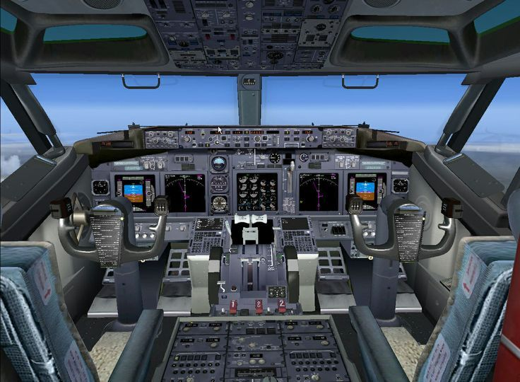 B737 panel FSX | Aviation | Boeing 747 cockpit, Boeing 747