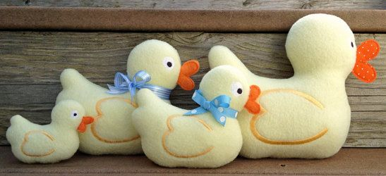 Duckie Softies & Appliques Machine Embroidery by EmbroideryGarden