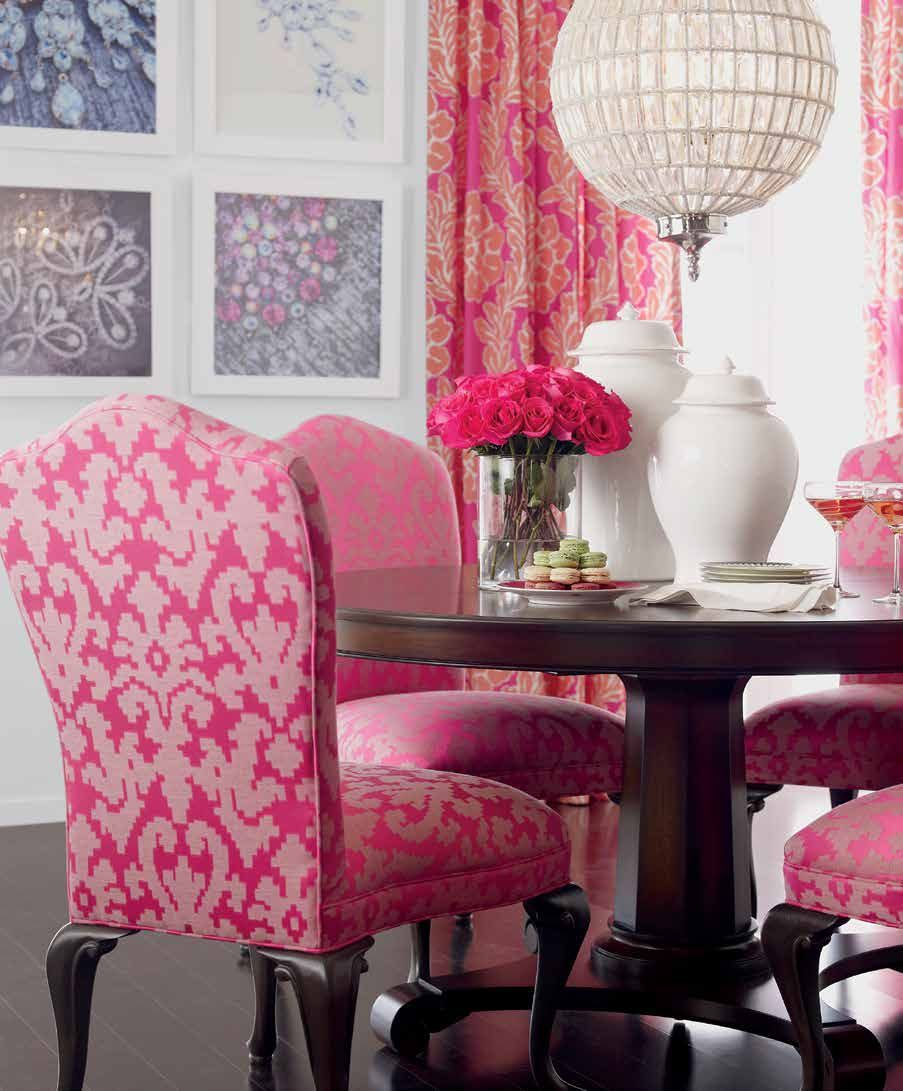 Esszimmer Pink Gorgeous Pink Dining Room Vanity Chic Interiors Pinterest
