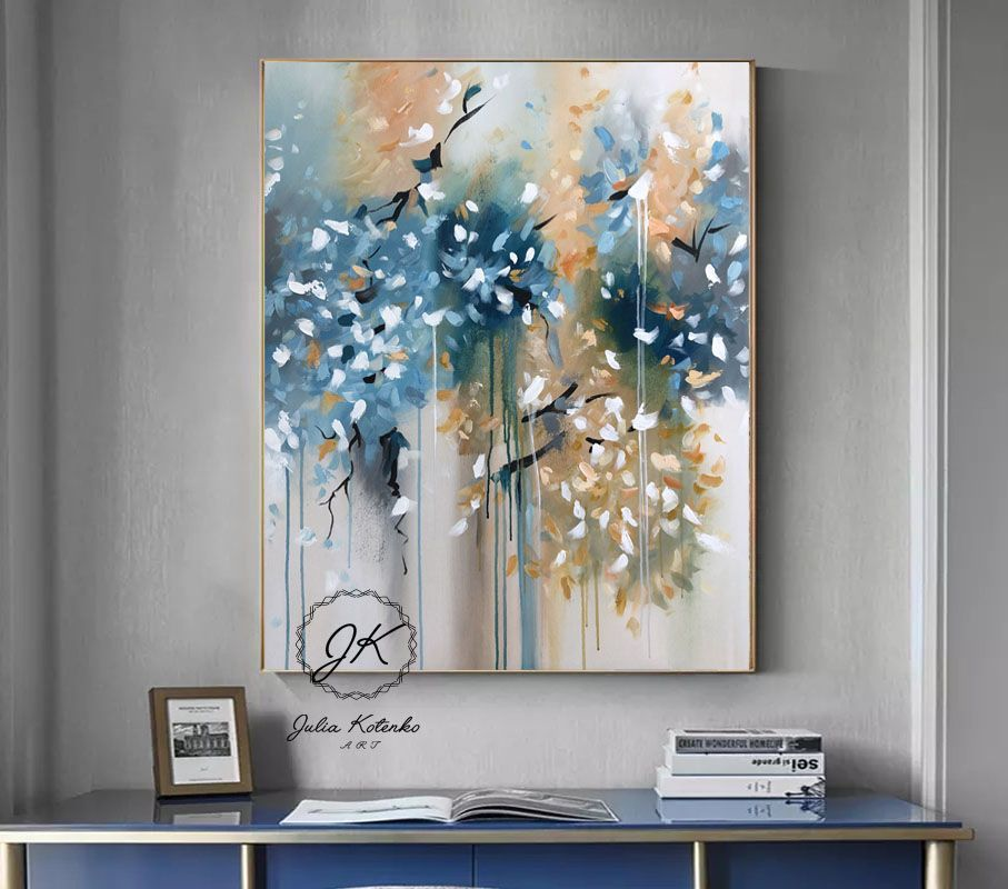 Pin En Abstract Painting By Julia Kotenko