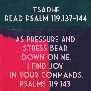 Meaning: Tsadhe is the 18th letter of the Hebrew alphabet. This means just or righteous. Thought: Allow the pressure and stress around you to shape you into ...