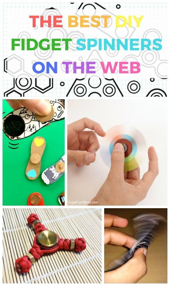 12 of the Best DIY Fid Spinners on the web for kids
