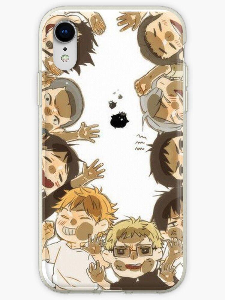 haikyuu!! characters iPhone Case