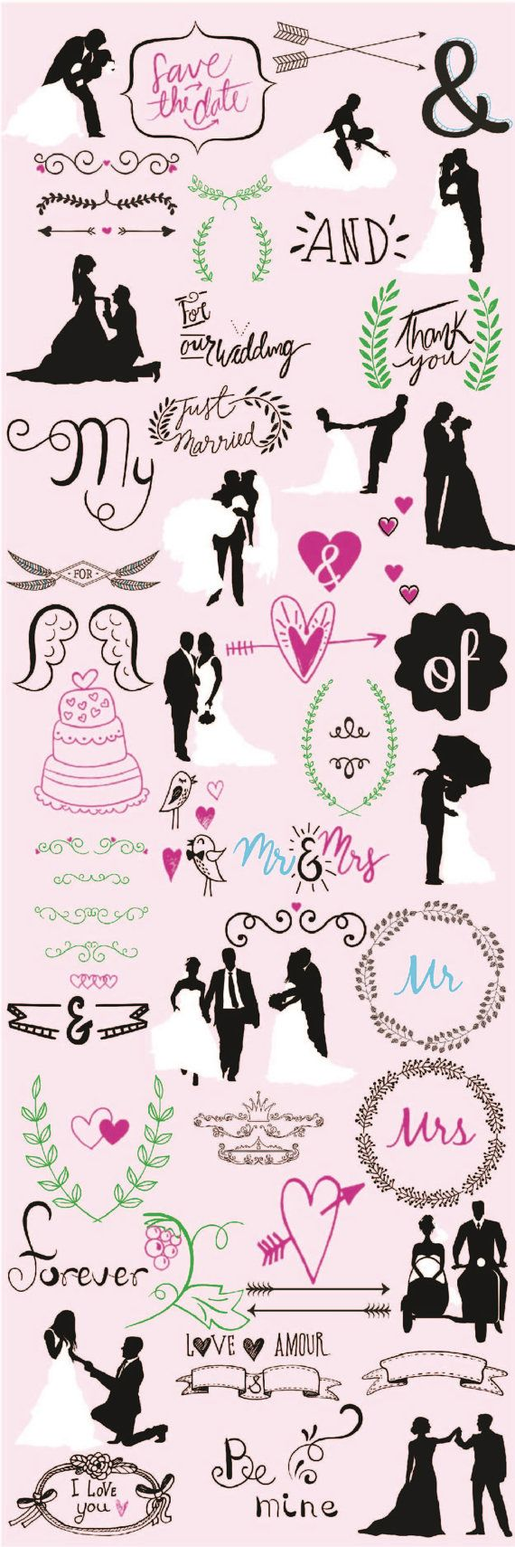 Wedding svg ultimate wedding designs bundle diy vector design wedding svg ultimate wedding designs bundle diy vector designwedding invitation mr and mrs silhouette files cricut vector designs junglespirit Image collections