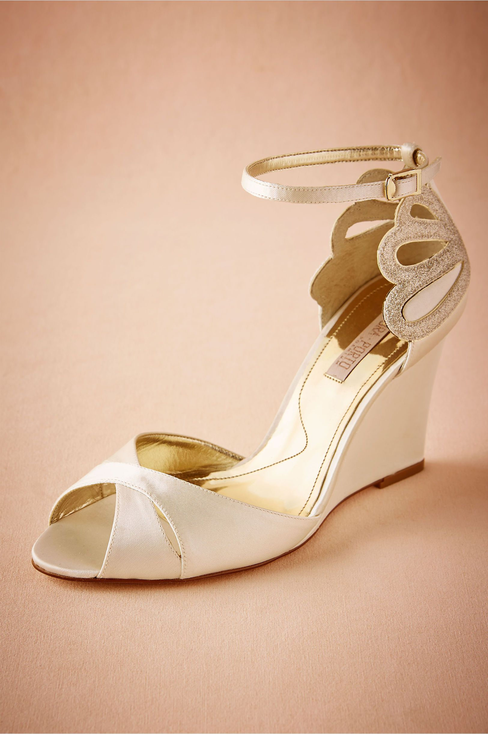 43511dbf5 BHLDN De Mer Wedges in Bride Bridal Shoes   Accessories