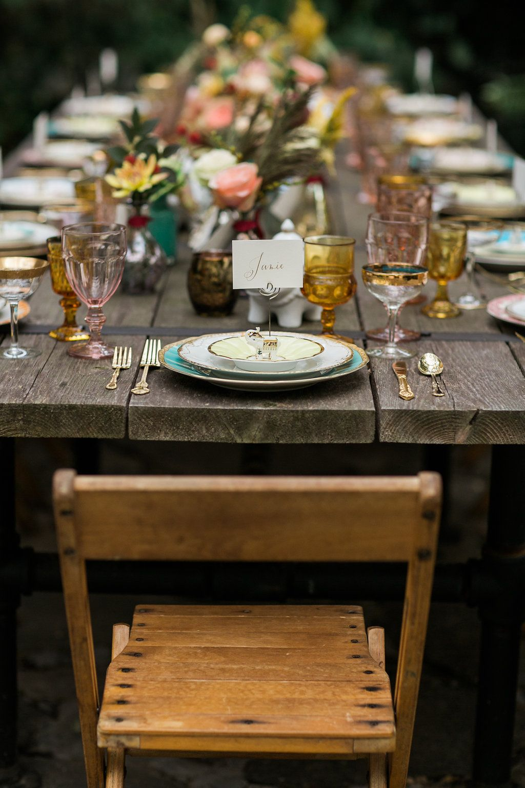 Table Setting Rentals Wedding Reception And Event Rentals
