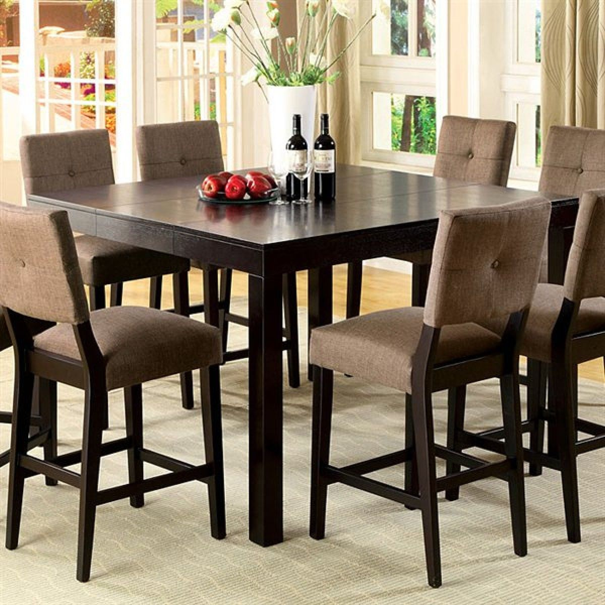 Counter Height Dining Table - http://www.cottagehomedecorating.com ...