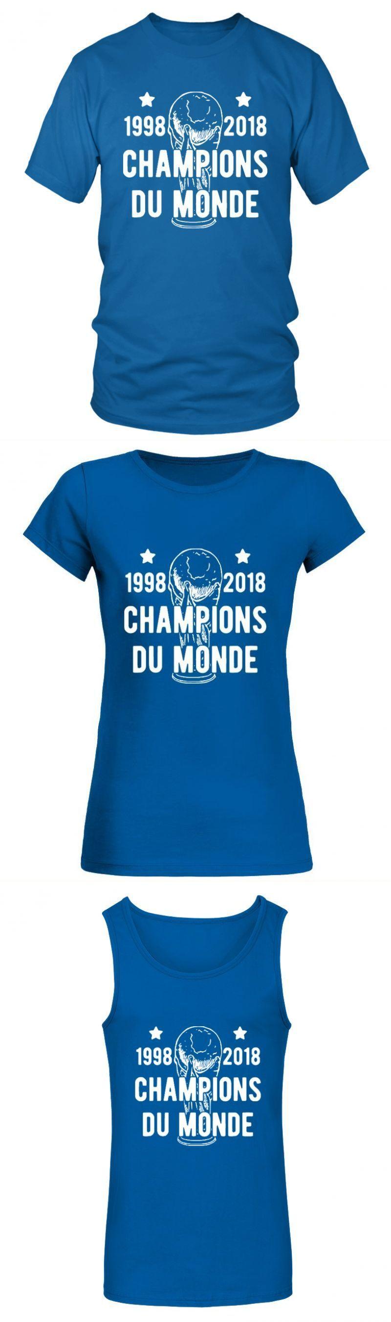 Football Hooligan T Shirt Champions Du Monde 1998 2018 Argentina T