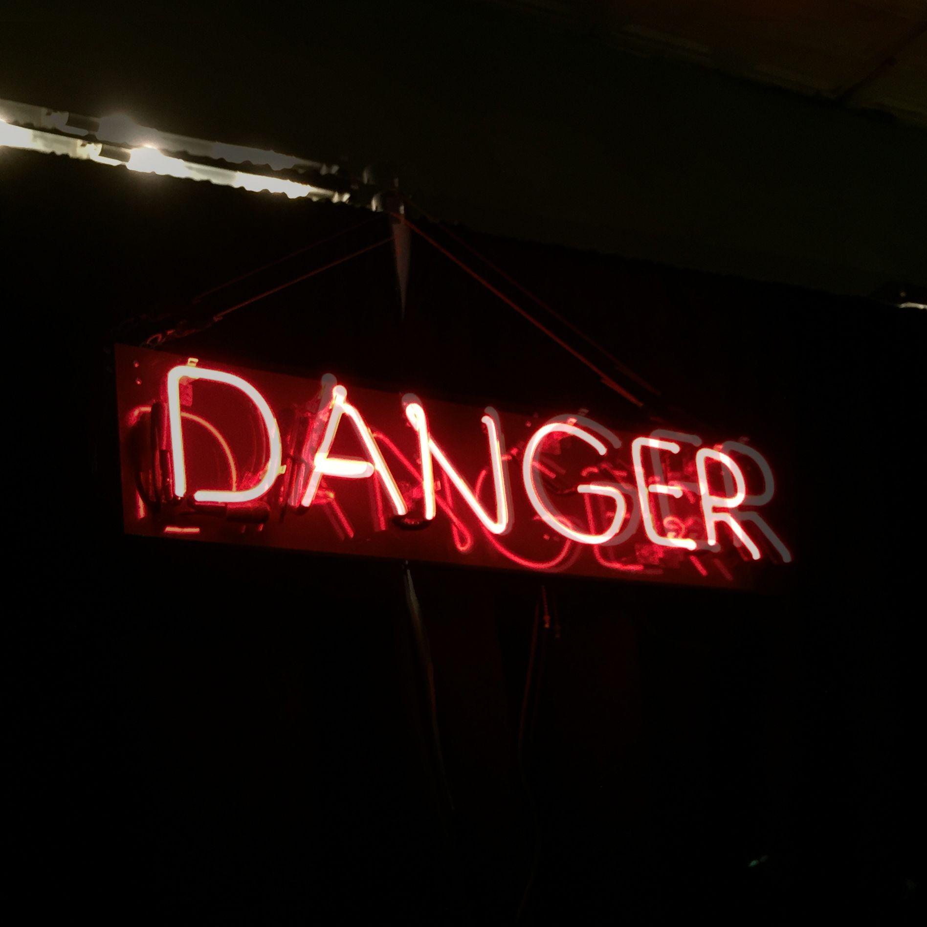 Danger, Neon — Lindsey Liss Neon signs, Neon, Wallpaper