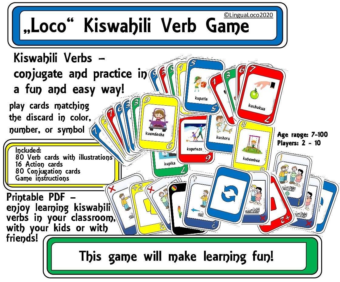 Swahili Verben
