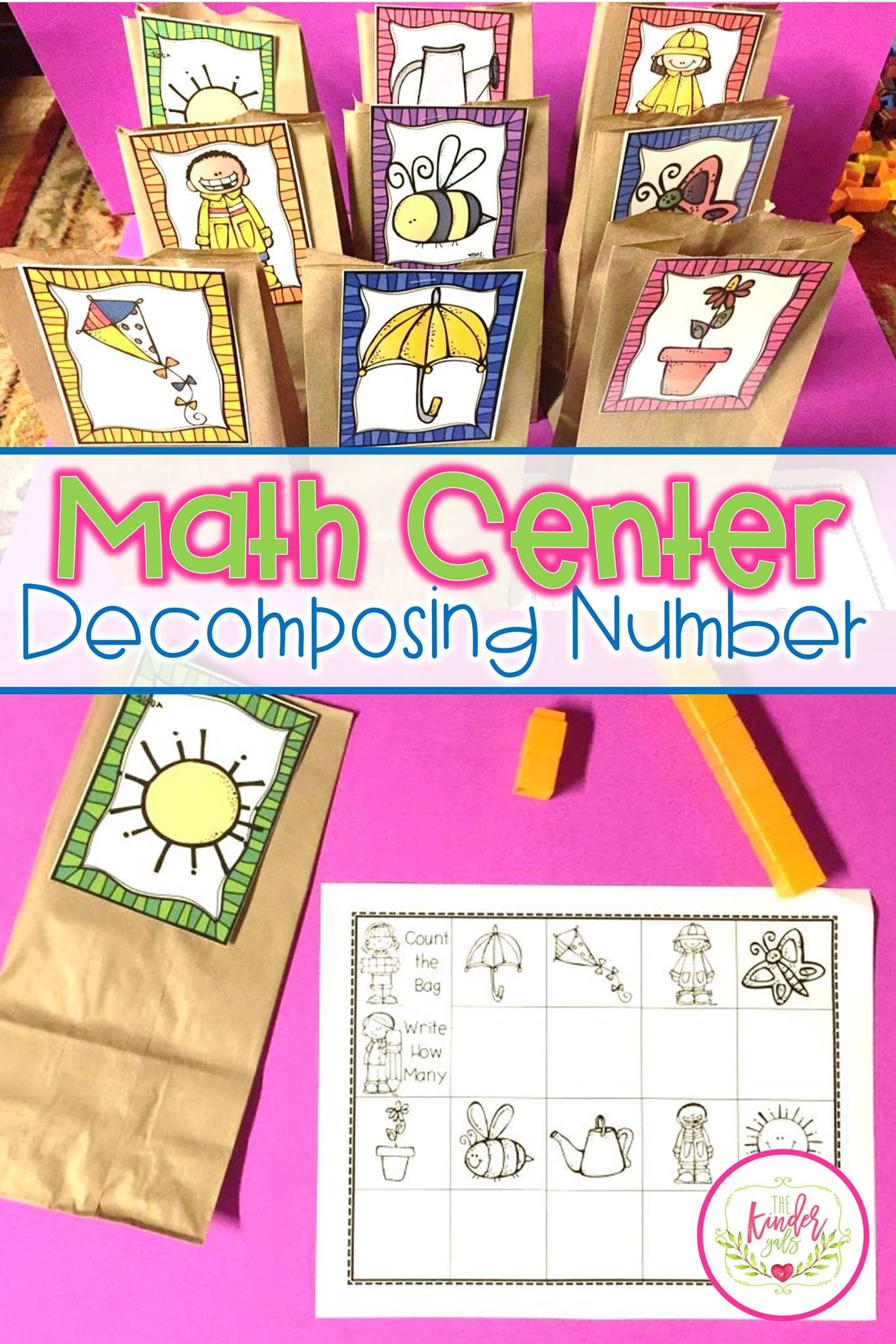 Small Group Math Di Easy As Pie Unit 8 Compose Decompose