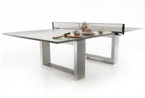 Outdoor Ping Pong Table By James Dewulf Modern Pool Table
