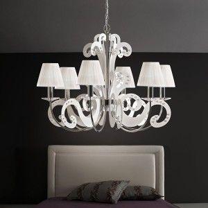 Illuminazione camera da letto in stile moderno, classico ...