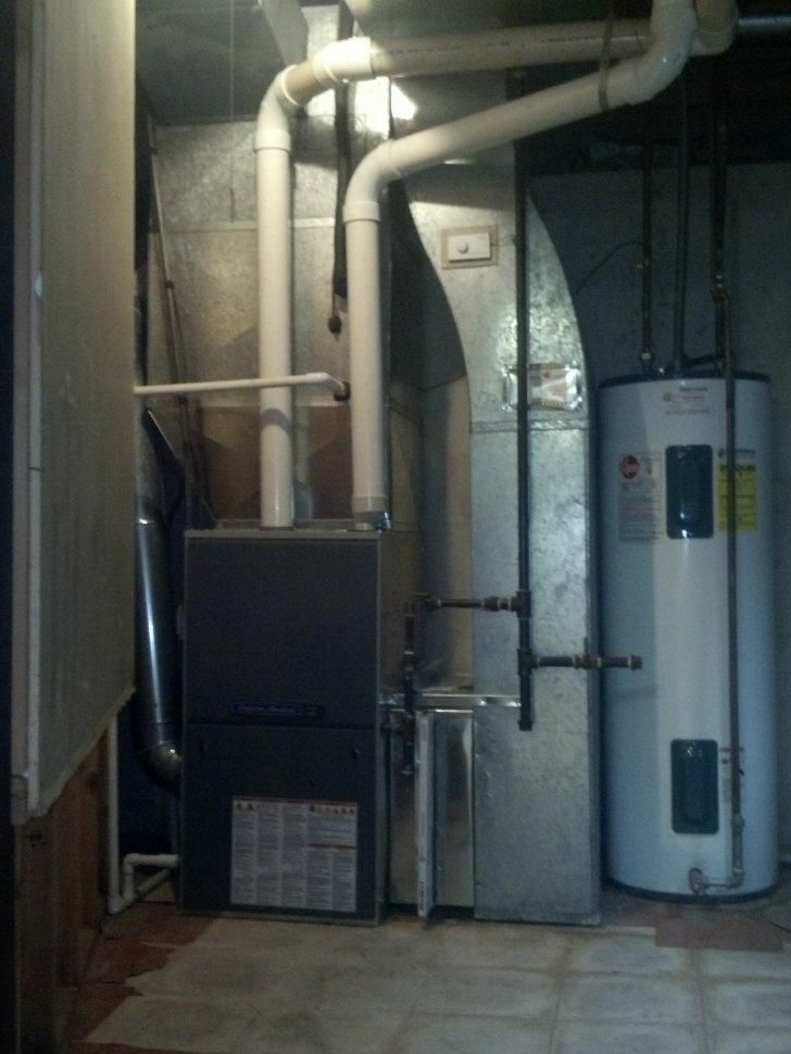 American Standard Gold Xi 95% auh1 furnace installed with a