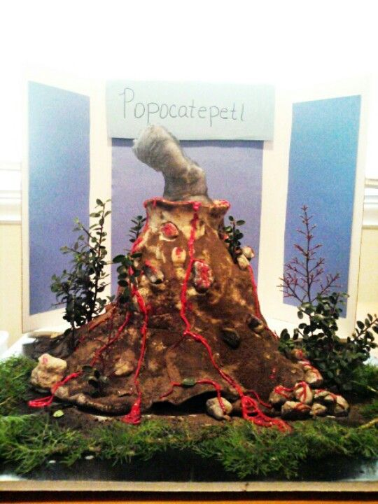 volcano projects for middle school - Google Search   Volcano ...