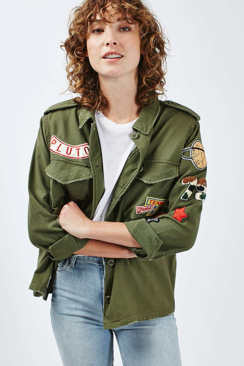 2455b6273 Desert weather patch trend inspiration Military Style Coats, Military  Jacket, Statement Jackets, Shirt