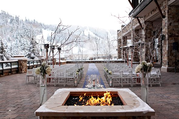 Utah Destination Weddings A Winter Wonderland Wedding In Park City