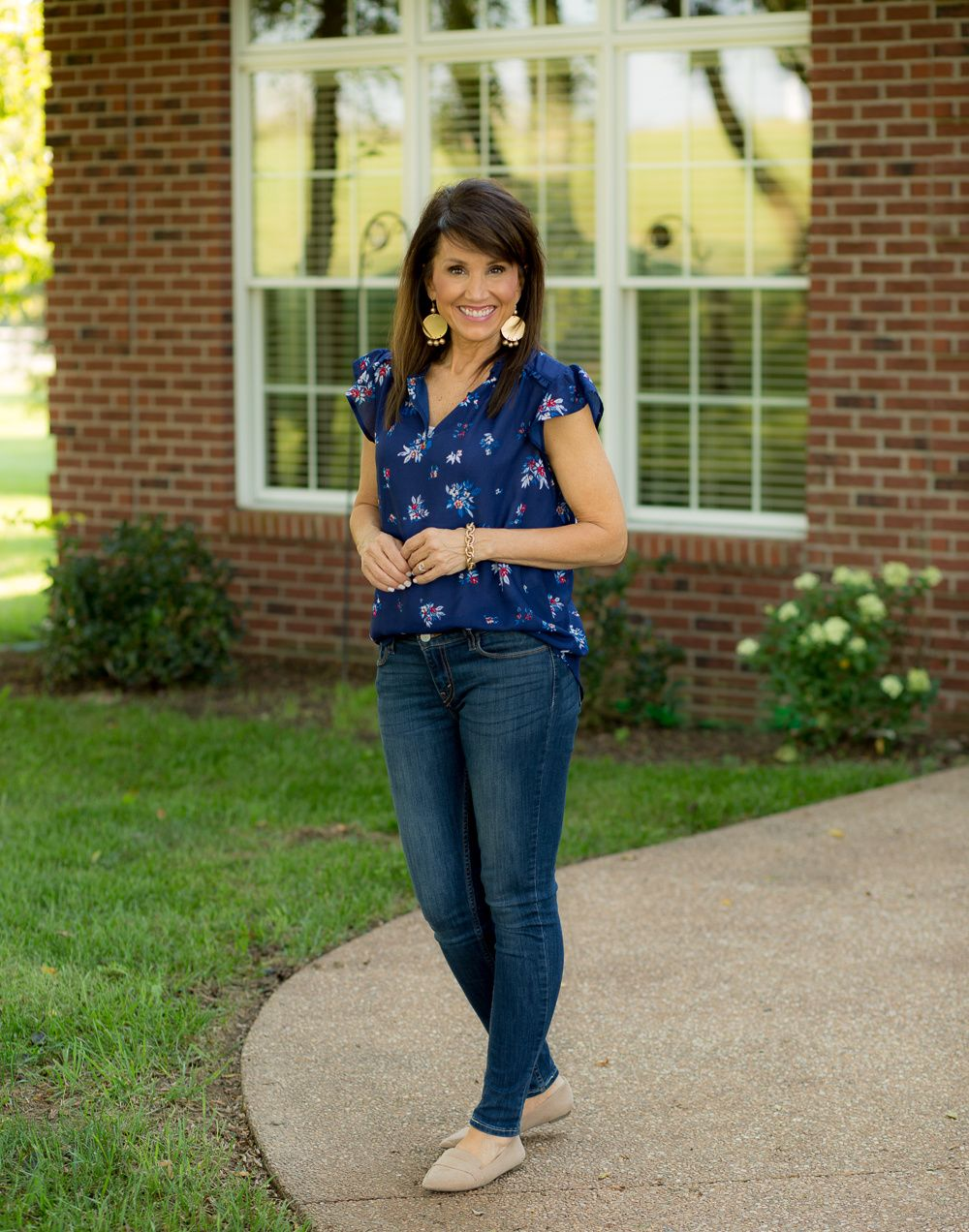 41c0dcdb0a6a4 Affordable Fall Fashion with JCPenney  cyndispivey  jeansandflats