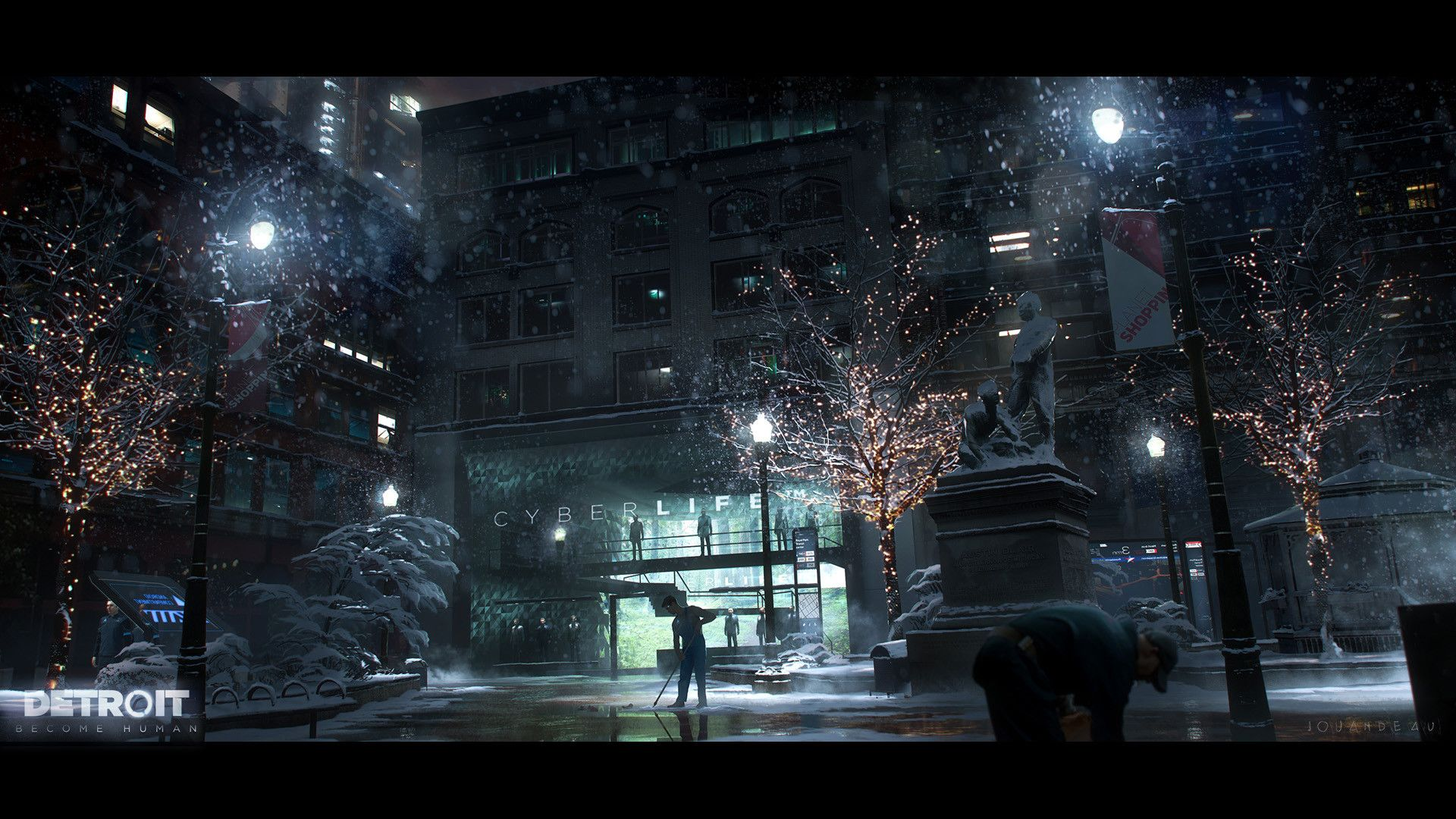 Artstation Detroit Become Human Early Concept Art Release