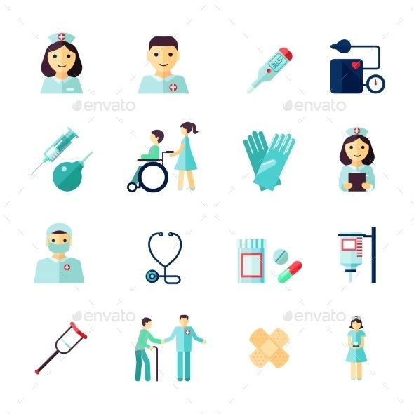 Nurse Icons Medical Icon Icon Collection Nurse
