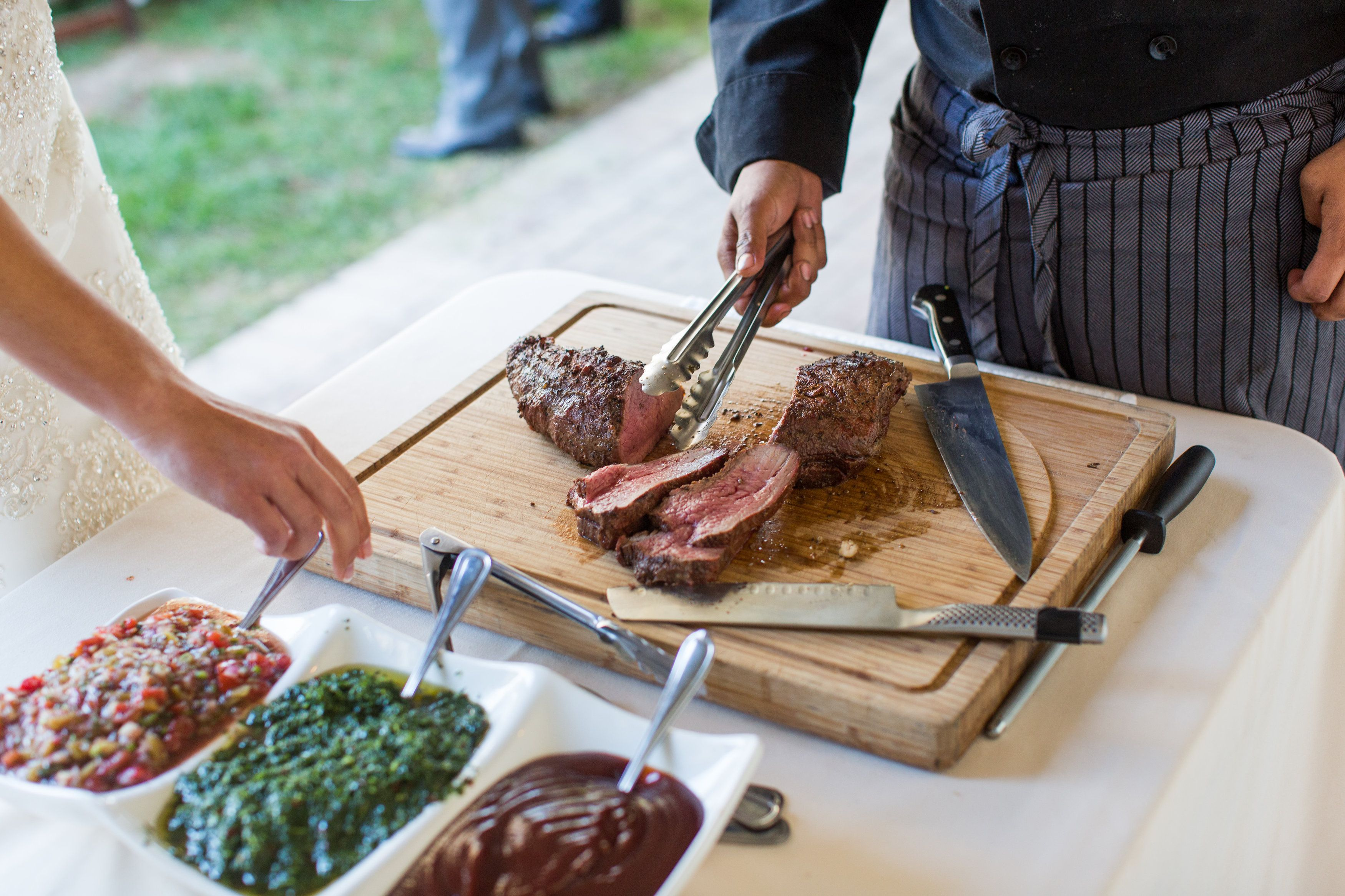 Jessica Sean San Luis Obispo Ca Tritip Field To Table - Field to table catering