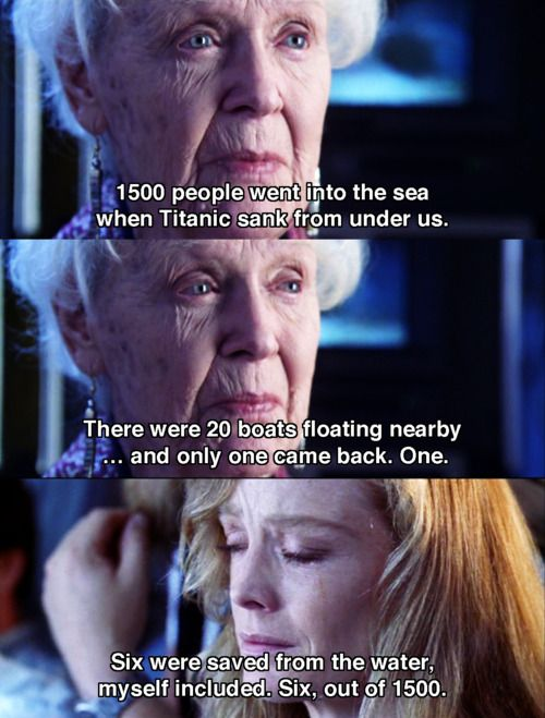 Titanic Quotes Its Horrible To Think Of Really  Titanic  I'll Never Let Go .