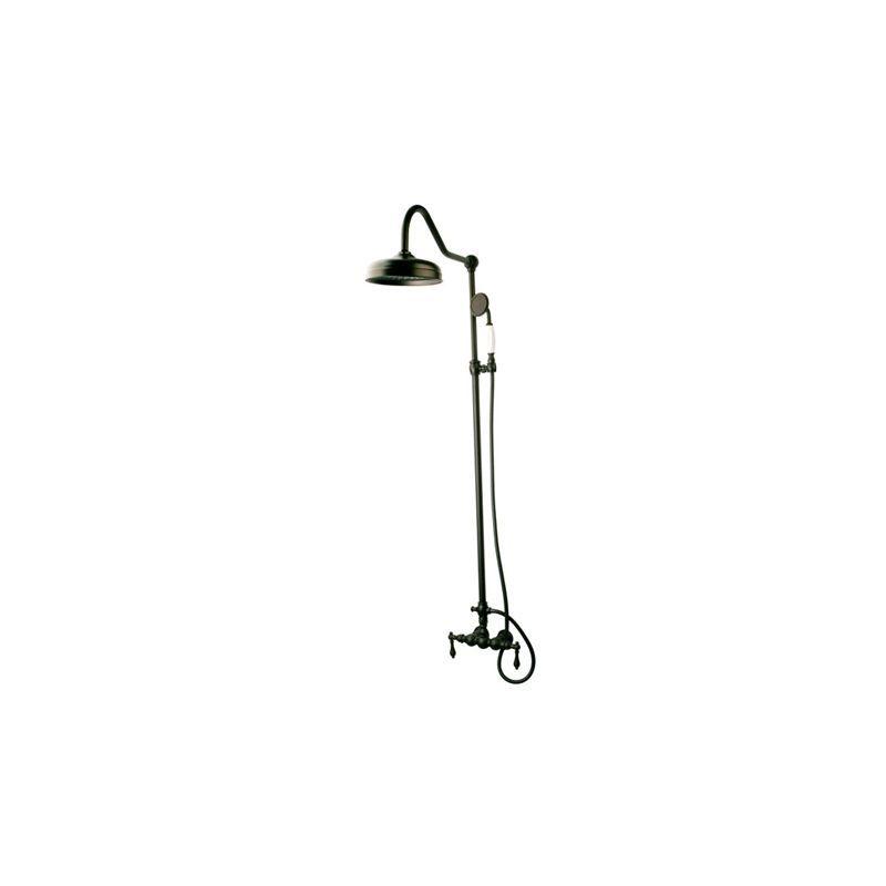 Kingston Brass CCK617 Vintage Shower Trim Package with Shower Head ...
