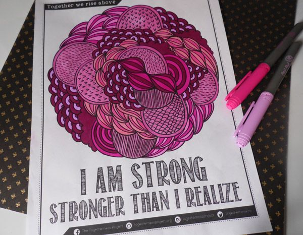 Free Coloring Book From The Togetherness Project