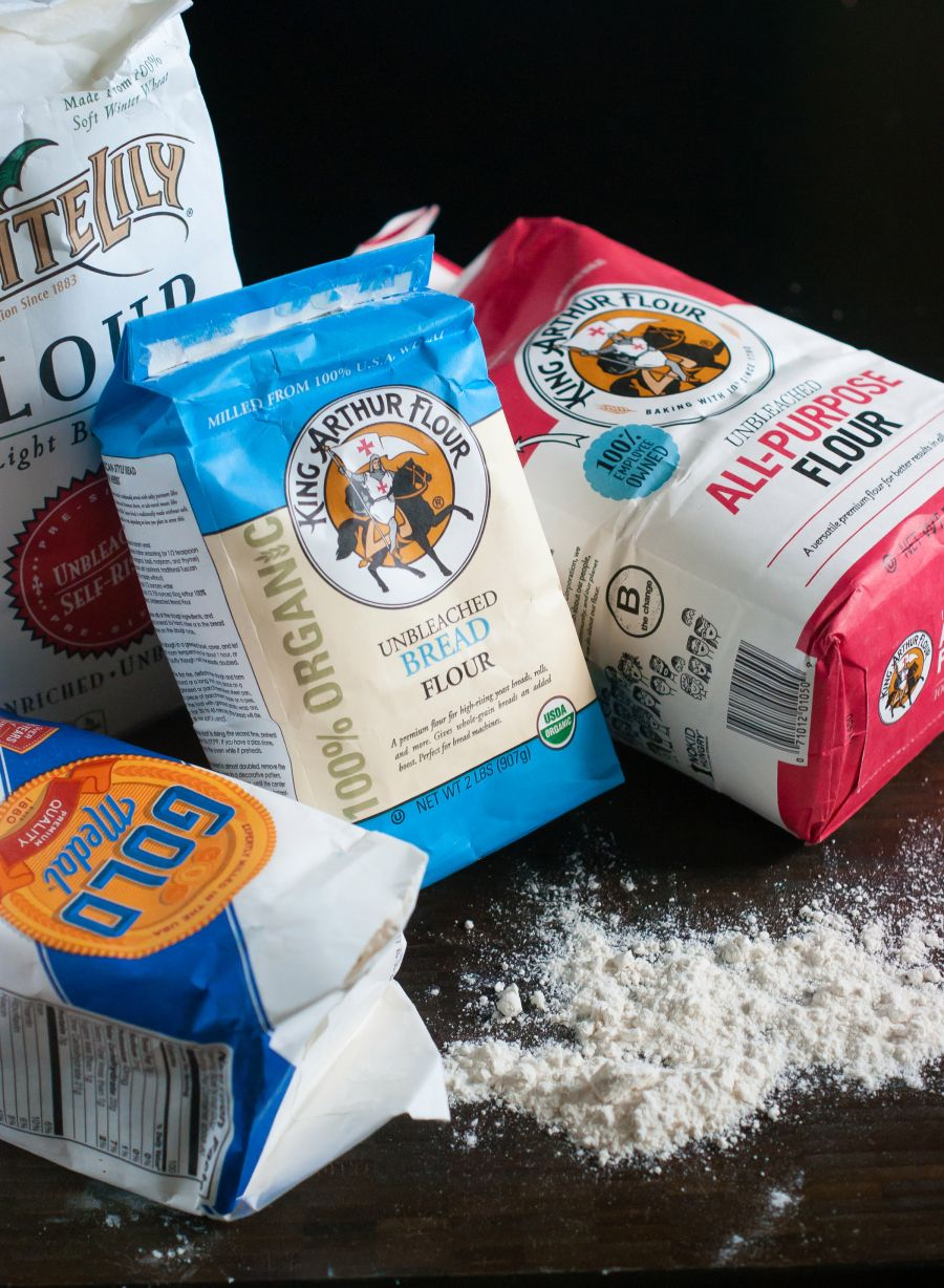 Flour 101: what flour to use when, from @bakeat350 #pwfoodfriends