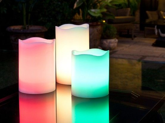 Candle LED RGB - świece LED RGB