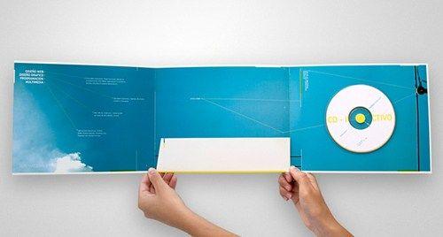 35 Creative Presentation Folder Designs for Identity Branding - sales presentation