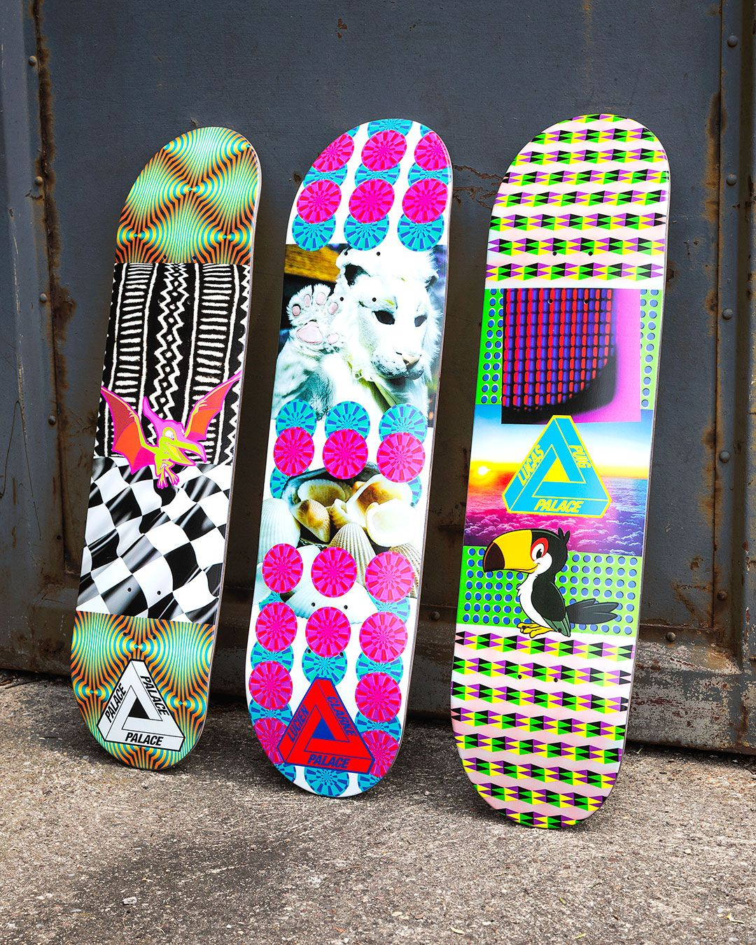 Palace Summer 19 Skateboard Deck Art Palace Skateboards Skateboard Shop