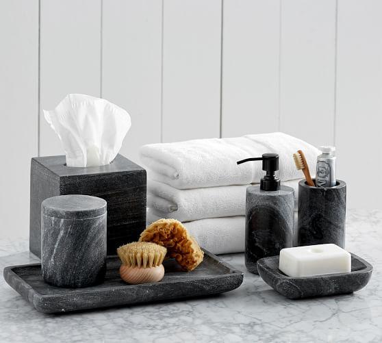 Marble Accessories Bath Accessories Set Bath Accessories Bathroom Accessories Sets Marb In 2020 Marble Bathroom Accessories Marble Accessories Marble Bath