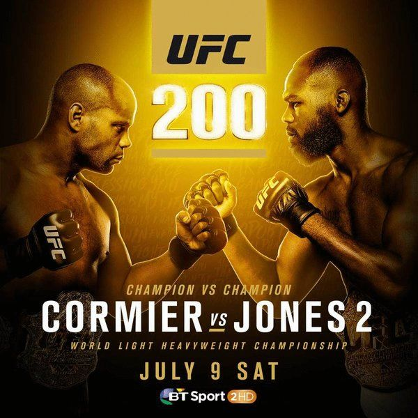 The Countdown To Ufc200 Is On Ufc Ufc Poster Mma Gym
