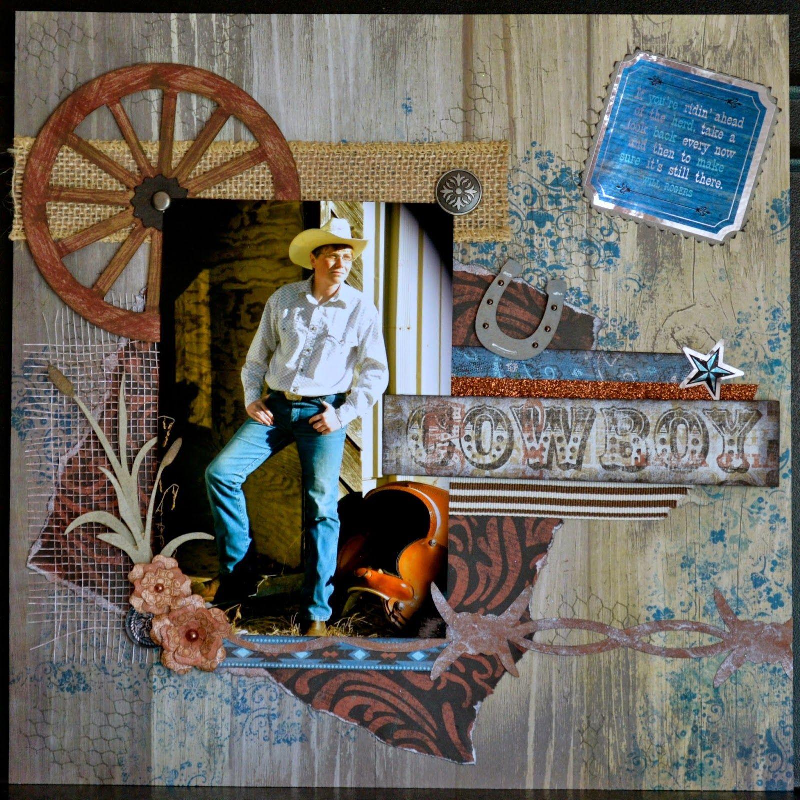 CTMH, Cowboy, Dakota, Timberline, ScrappyHorses.ctmh.com