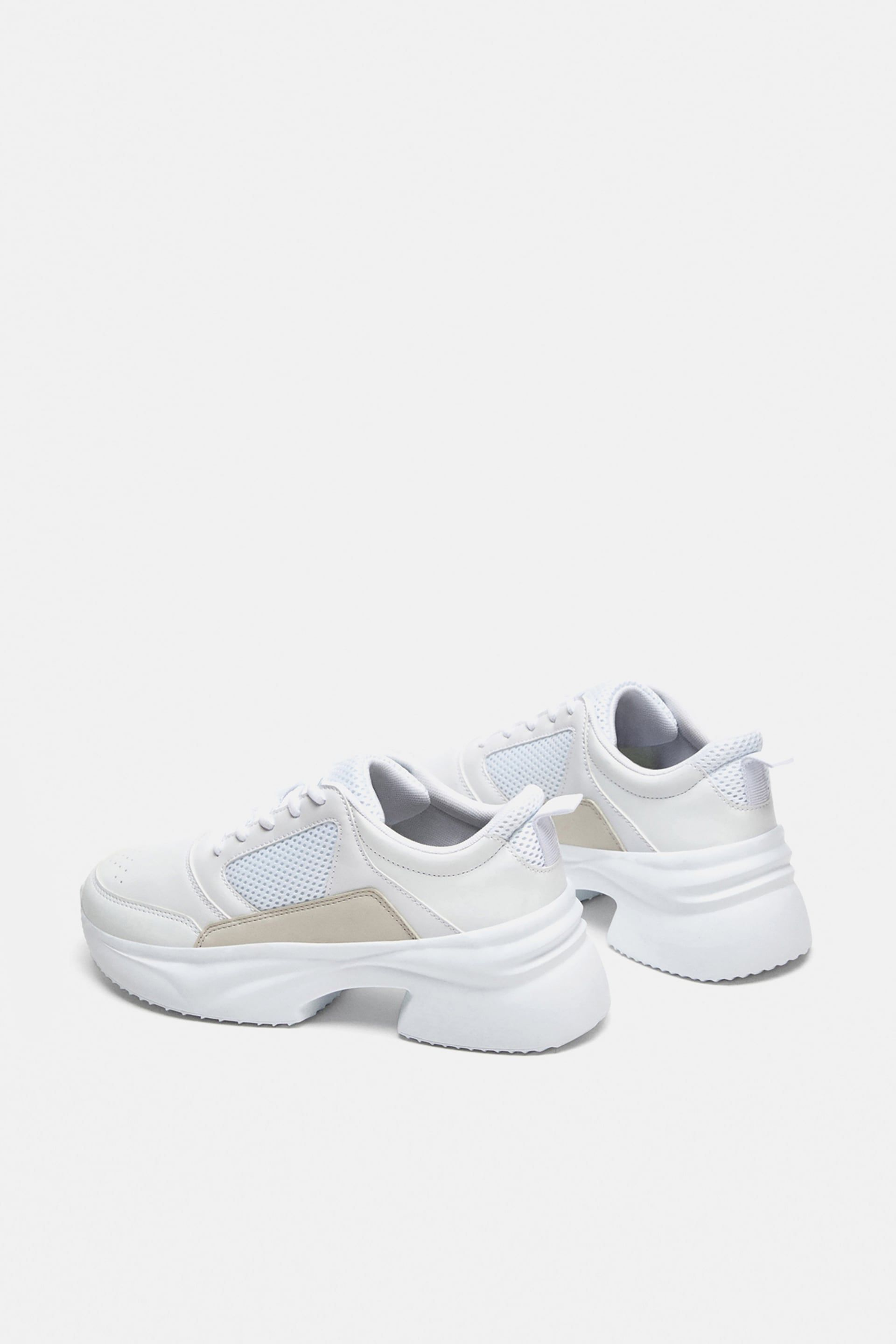 THICK SOLED SNEAKERS from Zara