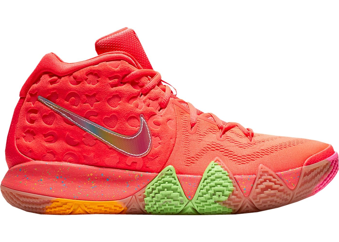 best website 32828 ba637 Nike Kyrie 4 Lucky Charms | Outfits in 2019 | Nike kyrie ...