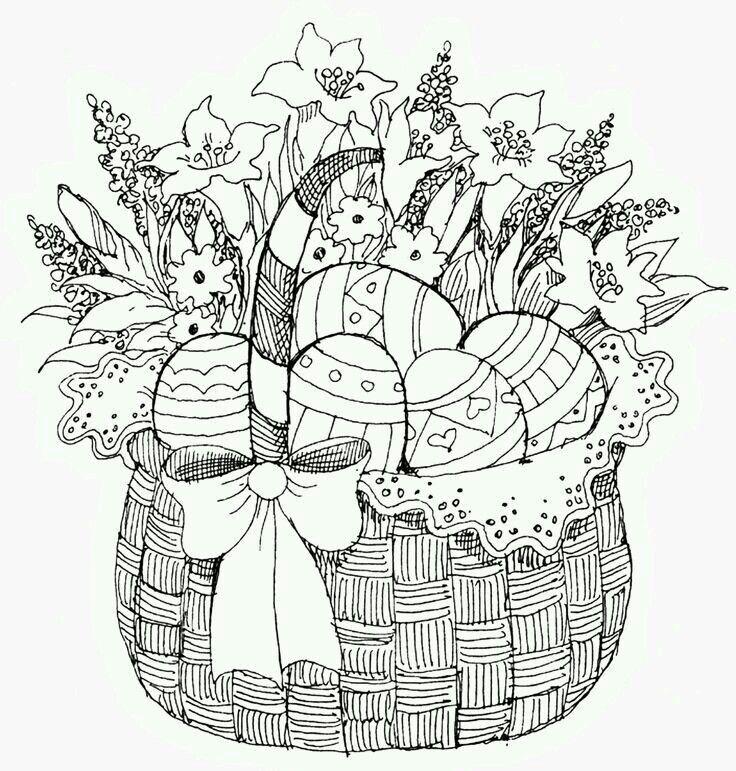 pin von ruth zumbach auf zeichnen  ausmalbilder ostern