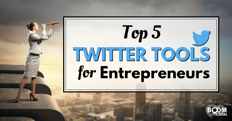 Great blog post at Kim Garst Boom Social - Social Selling Strategies That Actually Work :  Top 5 Twitter Tools for Entrepreneurs I've been a huge fan of Twitter for years and though I'm on all themajorsocial platforms and I [..]