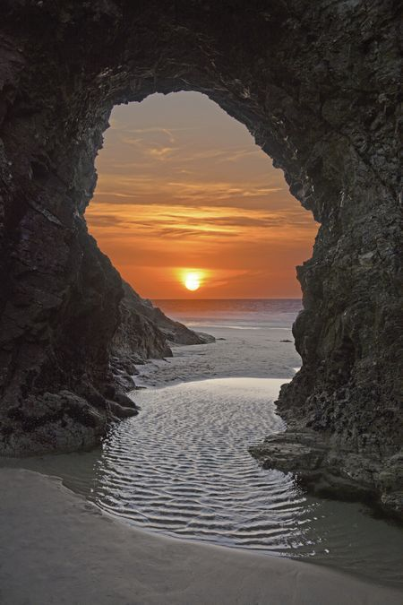 Perranporth beach in Cornwall, in the UK. #scenery