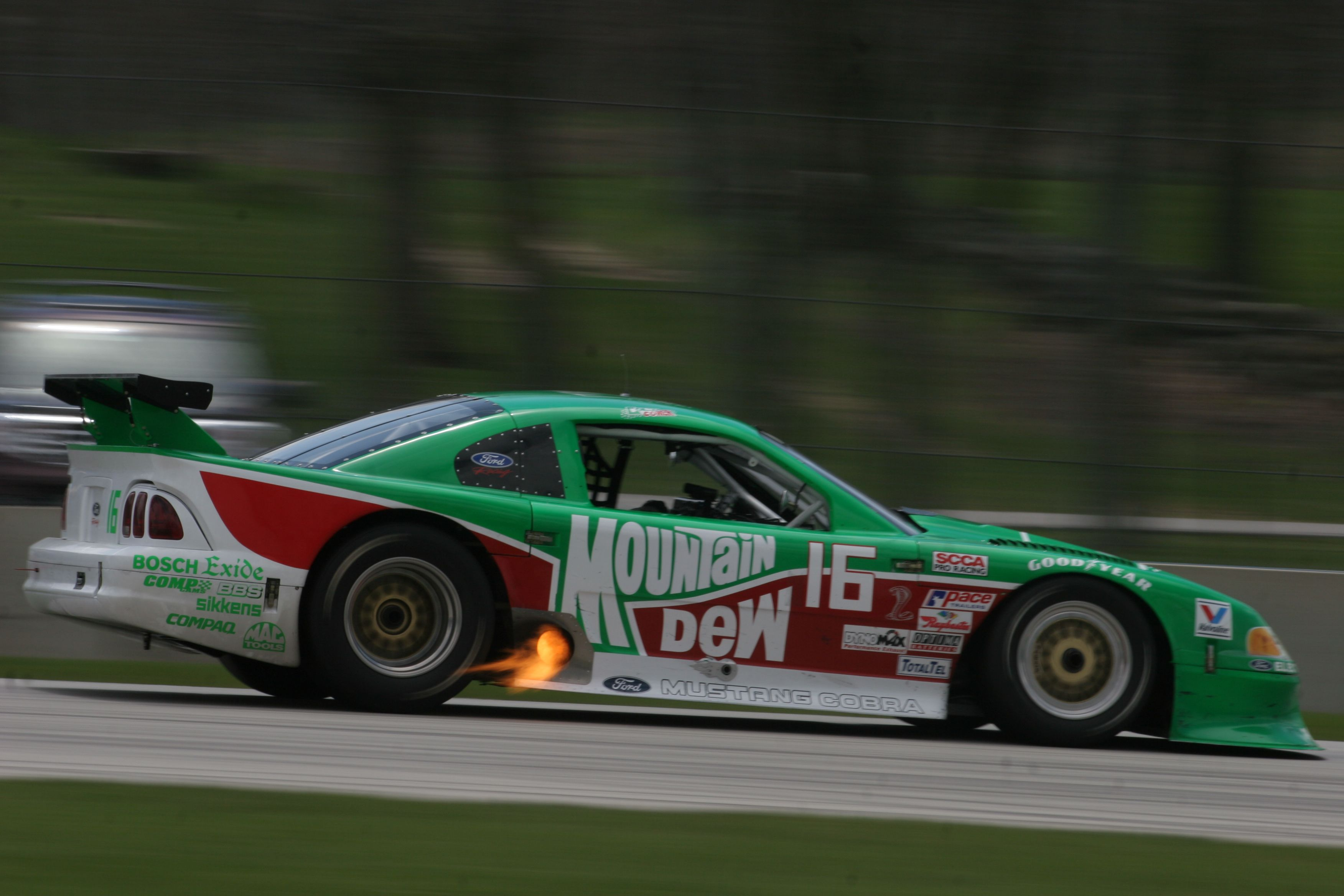 1995 Ford Mustang Cobra, Trans-Am, SVRA Spring Vintage Weekend ...