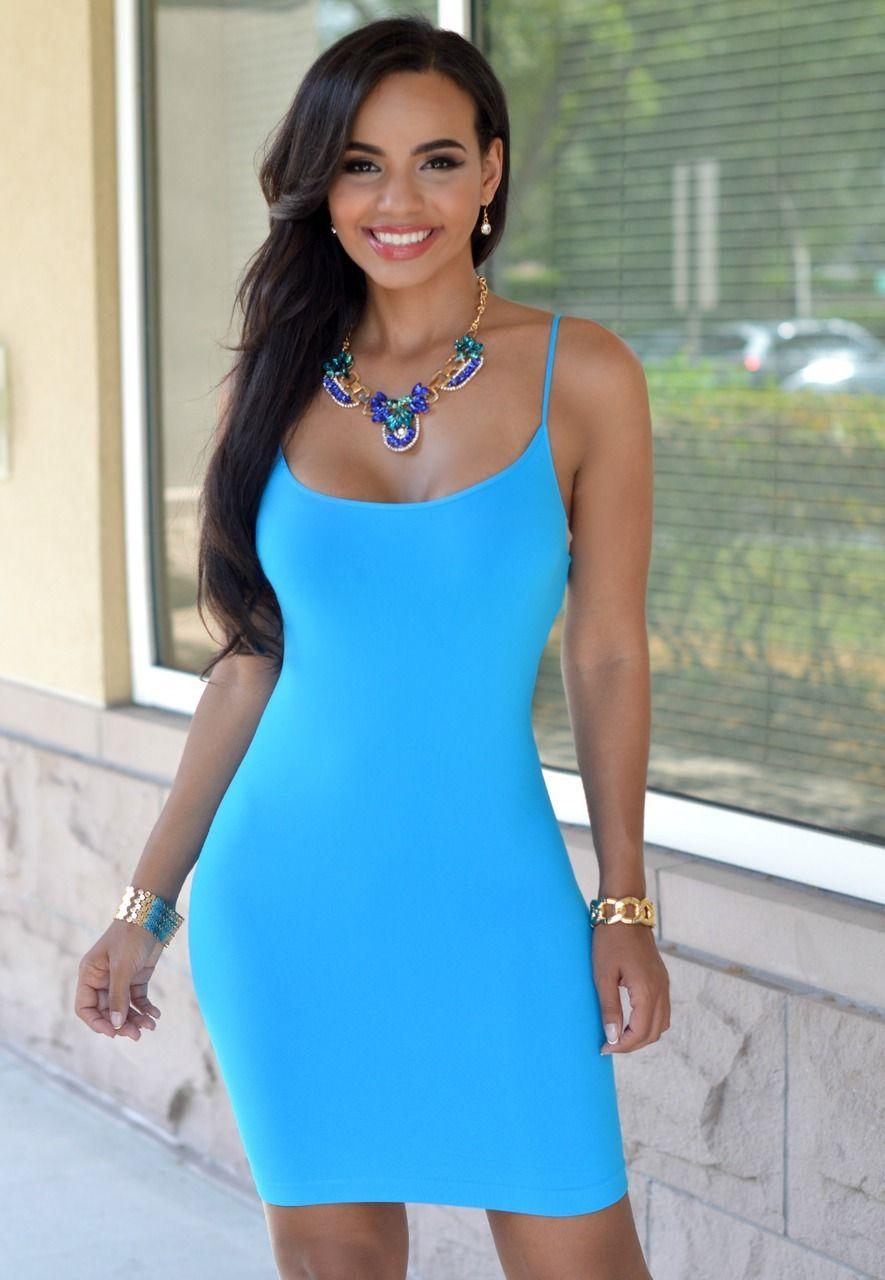 Leonie Deep Turquoise Seamless Body Con Dress Bodycon Dress Vegas Outfit Dresses [ 1280 x 885 Pixel ]